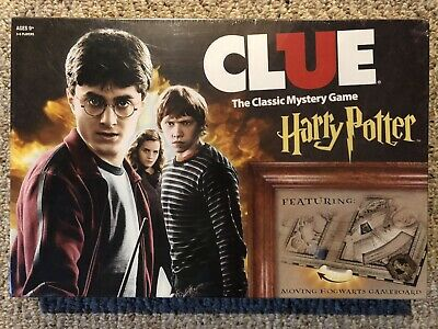 USAOPOLY Clue Harry Potter Board Game | Travel Through Hogwarts Castle to Solve