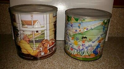 2 Vintage Maxwell House Coffee Cans Grandparents House Spring Series