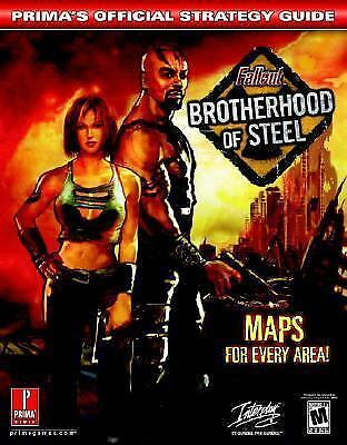 Fallout: Brotherhood of Steel (Prima's Official Strategy Guide), Black, Fletcher