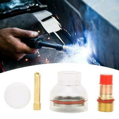 TIG Welding Torch Kit Part TIG Torch Gas Lens Collet Glass Cup for TIG-17/18/26