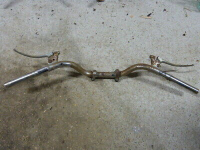 guidon + leviers peugeot 125