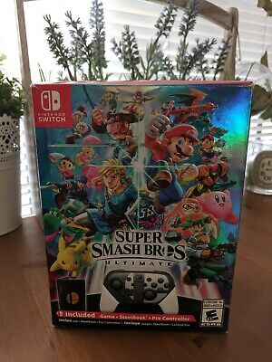 Nintendo Switch Super Smash Bros. Ultimate Special Edition BRAND NEW SEALED