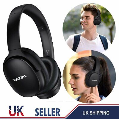 MPOW H10 ANC Active Noise Cancelling Bluetooth Wireless Over-Ear Headphone 2-Mic