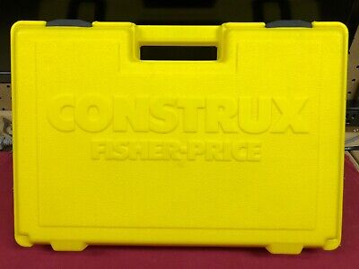 Vintage fisher price Construx Yellow Translucent Laser