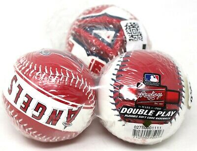 Los Ángeles Anaheim Angelss Rawlings Doble Juego Suave Core Baseballs 3-Pack New