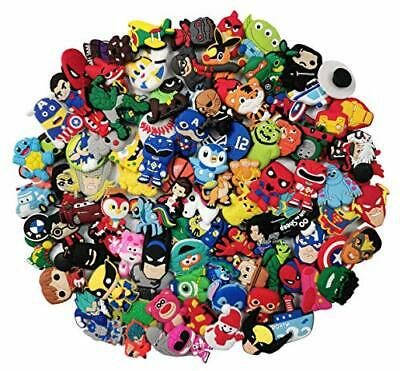 100Mixed Pvc Shoe Charm Lot Different Shoe Charms Fit For Croc Jibbitz Wristband