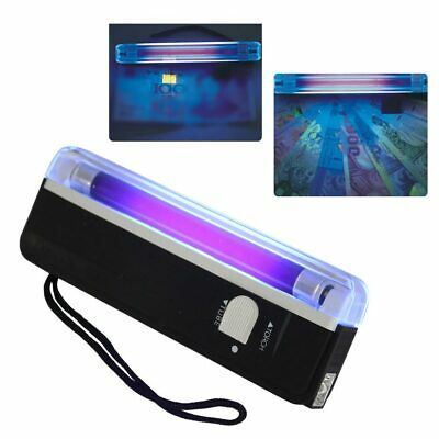 Ultraviolet Light Counterfeit Money Checker Fake Bank Note Currency Detector AU