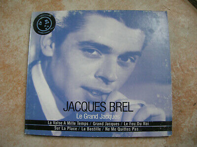 CD AUDIO JACQUES BREL LE GRAND JACQUES ( traces d usure du boitier) (D1)