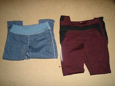 Ladies Workout Gym Bottoms size 10 from next 1 long 1 cropped