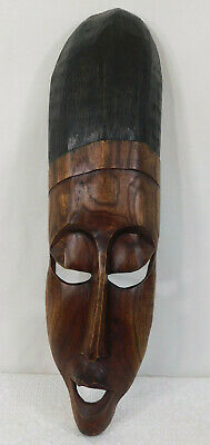 Hand carved Wooden Western African Mask ~ Beautiful Piece!