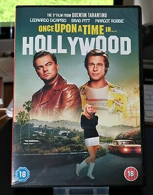 Once Upon a Time in...Hollywood (DVD, 2019) - Region 2 - CERT 18