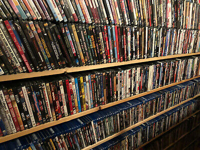 """Thriller Genre Dvd Movies """"You Choose Title"""" ( Repackaged Previously Viewed)"""