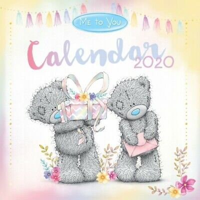Me To You  2020 Square Wall Calendar Tatty Teddy by Browntrout 30 x 30cm