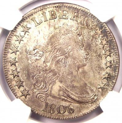 1806 Draped Bust Half Dollar 50C O-115a - NGC XF Detail - Rare Certified Coin!