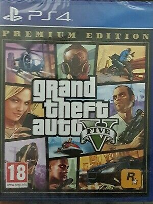 Gta 5 Premium Edition Ps4 Nuovo