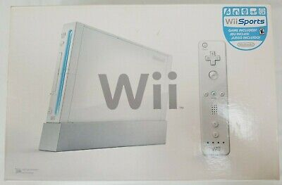 Nintendo Wii Sport Console System Complete White Tested Very Clean Condition