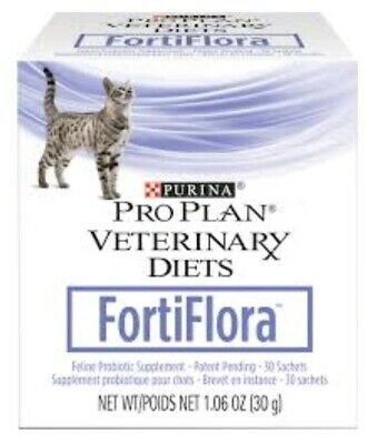 Fortiflora - Purina Proplan CAT Probiotic - (1) 30 ct Digestive Health EX 07/21+