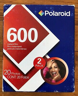 2 Polaroid 600 films - double pack - expired - April 2009