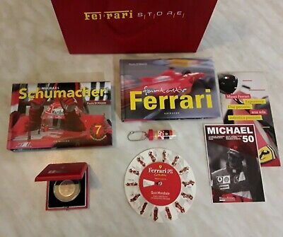 Set FERRARI Michael Schumacher