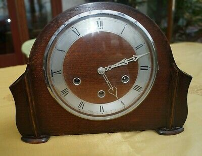 1950's Smiths Westminster chime  mantel clock.SEE VIDEO