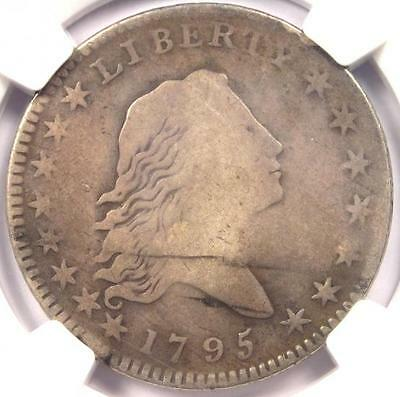 1795 Flowing Hair Bust Half Dollar 50C - Certified NGC VG Details - Rare Coin