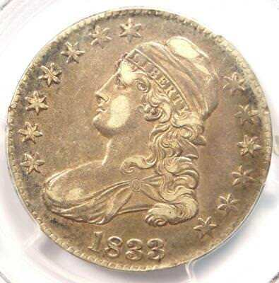 1833 Capped Bust Half Dollar 50C O-113 - PCGS XF40 (EF40) - Rare Certified Coin!