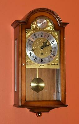 Vintage Refined German W.haid - Franz Hermle Westminster Chime Wall Clock.
