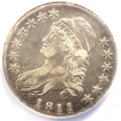 1811 Bust Half Dollar 50C - Certified ANACS XF40 Details (EF40) - Rare Coin!
