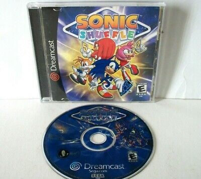 Sonic Shuffle (Sega Dreamcast) Complete Mario Party-Like Game Hedgehog Disc NFR
