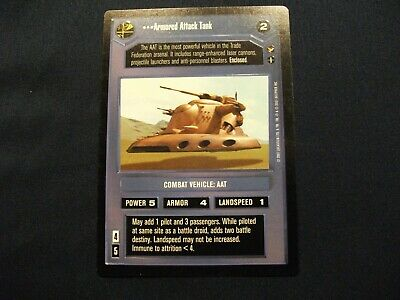 Star Wars CCG General Jar JarTheed PalaceNM//Mint Bonus!