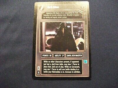 zz THEED PALACE star wars ccg replace mv After Her! Near Mint