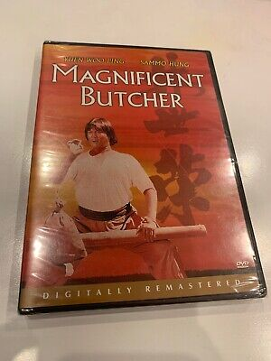 The Magnificent Butcher R1 DVD Brand New Sealed ~ Kung Fu Classic Film