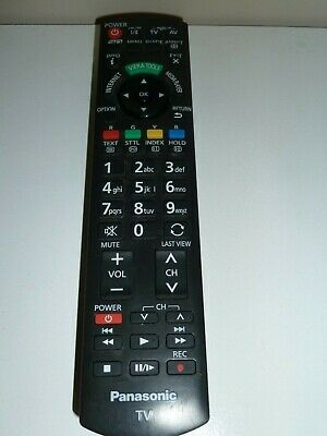 Genuine OEM Replacement PANASONIC Remote TV/LED/LCD/Smart TV with 3D key