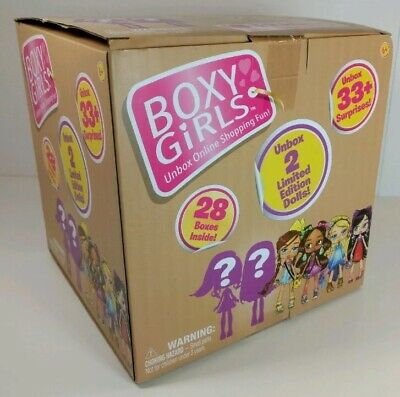 Boxy Girls BIG BOX Jumbo Crate 2 LIMITED EDITION Dolls plus Unbox 33 Surprises ✨