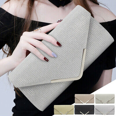 Wedding Party Women Handbag Bridal Purses Ladies Formal Evening Clutch Bags New