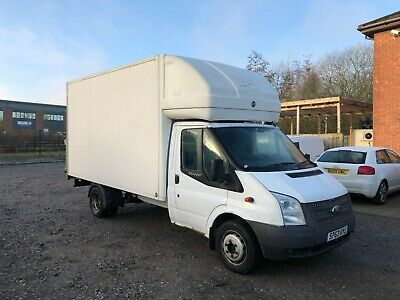 2013 63 Ford Transit Luton Tail Lift 125 T350 Xlwb Very Low Miles 1 Owner Fsh!!