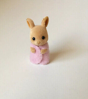 set of 2 Babies 4cm NEW SYLVANIAN FAMILIES 4767 Kangaroo Twins RETIRED