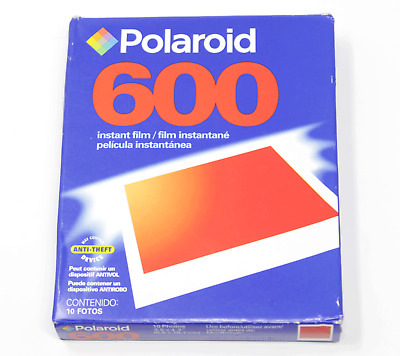 Polaroid 600 10 Photo Instant Film EXPIRED 07/2005 Sealed Package