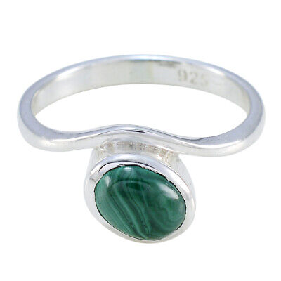 Attractive Man made Ring Malachite Ring 925 Sterling Silver Ring Antique Ring US