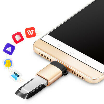 Universal Mini Phone Converter Adapter Home USB3.0A To Type-c Computer Efficient