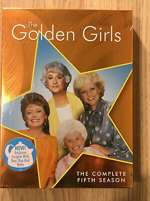 The Golden Girls ~ Complete Fifth Season ~ NEW 3-Disc DVD Set ~ Free Shipping!