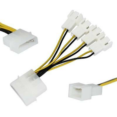 """CABLES TO GO #27392 7/"""" 3-PIN FAN POWER EXTENSION CABLE IN PACKAGE"""