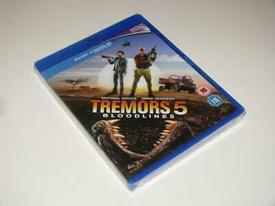Blu-Ray ~ Tremors 5: Bloodlines ~ Michael Gross ~ NEW / SEALED