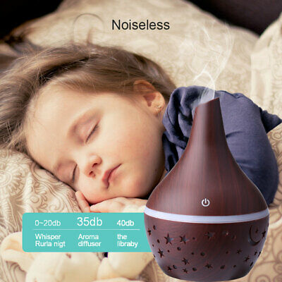 Essential Oil Aroma Diffuser LED Ultrasonic Aromatherapy Humidifier Air Purifier