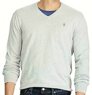 Men's Ralph Lauren shirt Men's V Neck Long Sleeve Tee