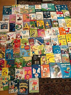 Lot of 85 Dr Seuss Bright & Early and Beginner Books Hardcover class daycare #3