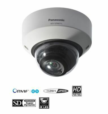 Panasonic WV-SFN611L, HD/1280 x 720 60 fps H.264 IP Camera
