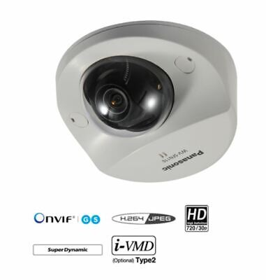 Panasonic WV-SFN110, 720P Fixed Dome IP Camera