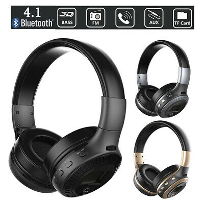Over Ear Gaming Headset Wireless Bluetooth Headband Headphone with Mic For PS4