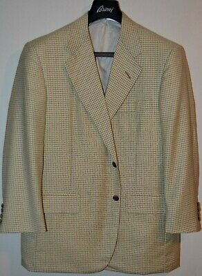 $3250 MINT Oxxford Wool Check Sportcoat Blazer 42R 42 R Neiman Marcus